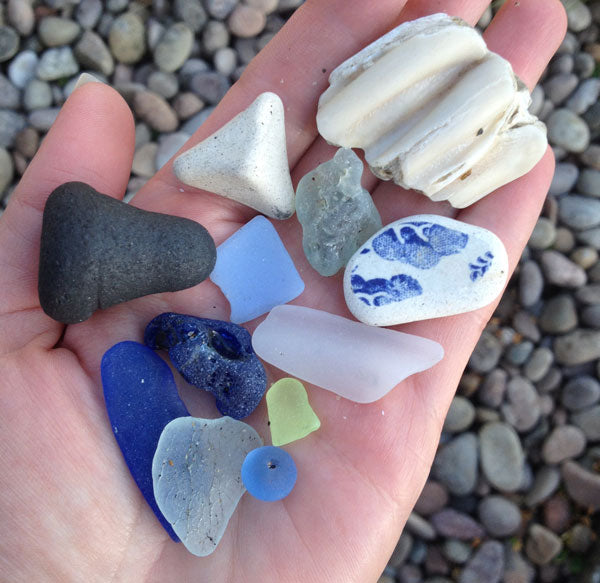 beachcombing in scotland
