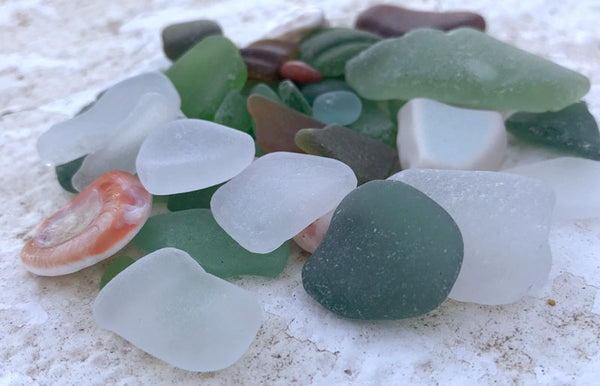 where to find sea glass on a trip