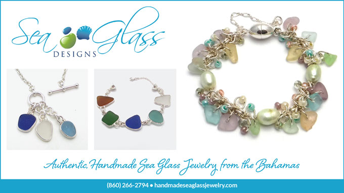 sea glass jewelry from the bahamas