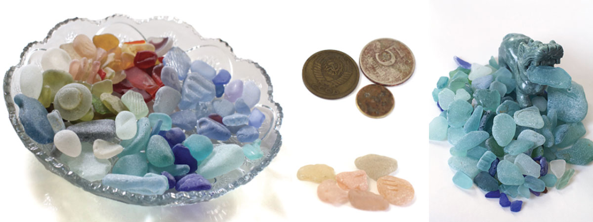 genuine russian sea glass