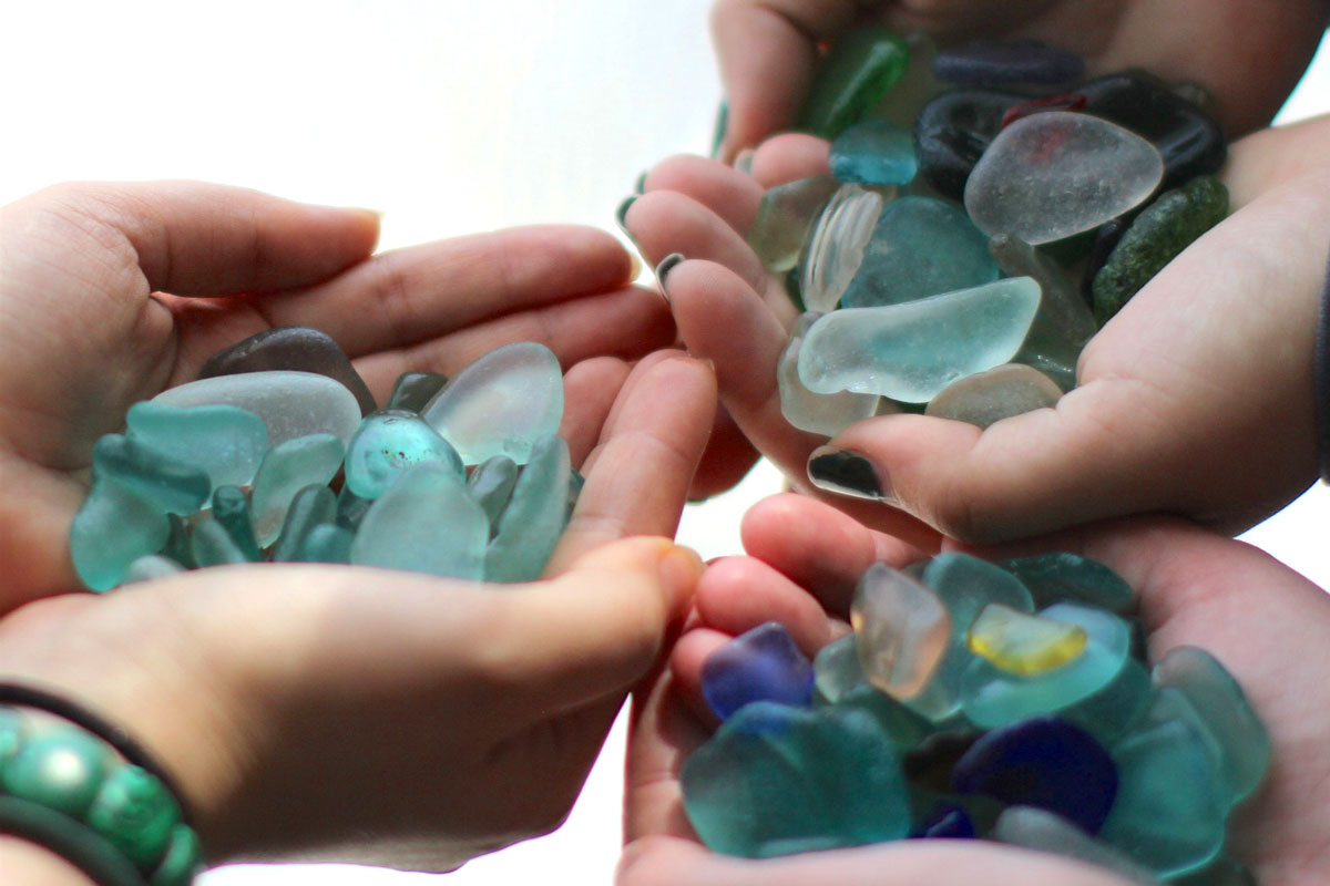trip to russia to find sea glass
