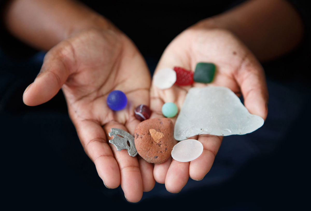 new jersey sea glass finds