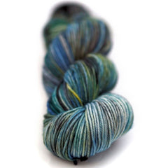 washable wool yarn in seaside colors