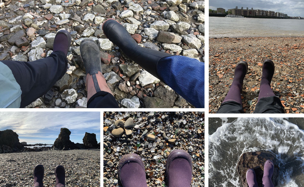 these boots are made for beach walking