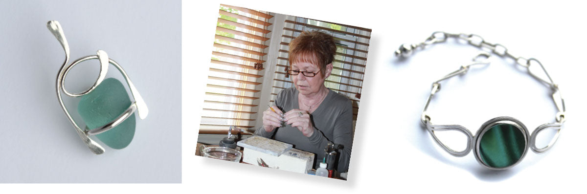 signe lawson sea glass jeweler