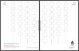 small template for a wind chime
