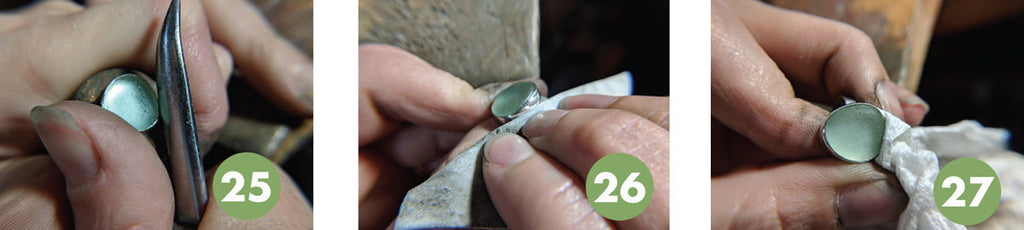 sea glass jewelry how to instructions