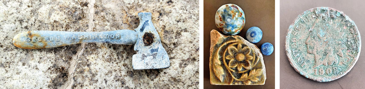 historical finds beachcombing in chicago