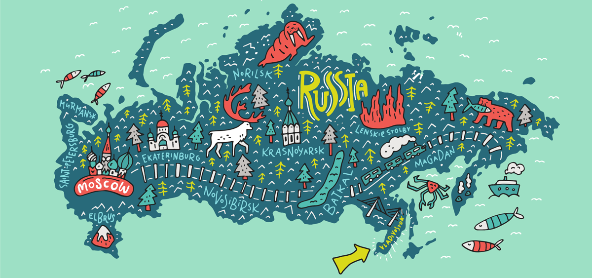 map of vladivostok in russia