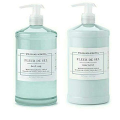 fleur de sel soap and lotion