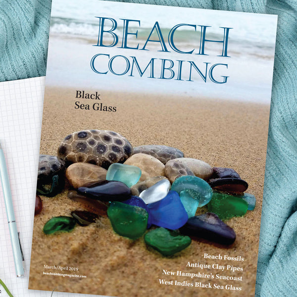 Beachcombing Magazine March/April 2019 Issue - FREE U.S. Shipping