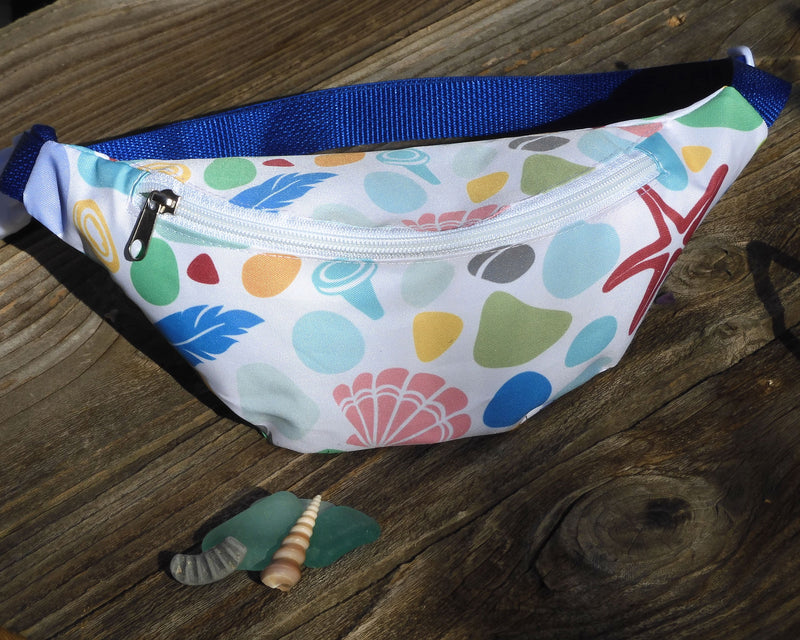 Beachcombing Booty Bag - Mermaid Fanny Pack Hip Bag Bum Bag - FREE U.S. Shipping