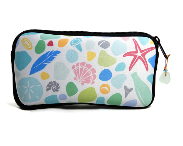 Beachcombing Print Neoprene Bag