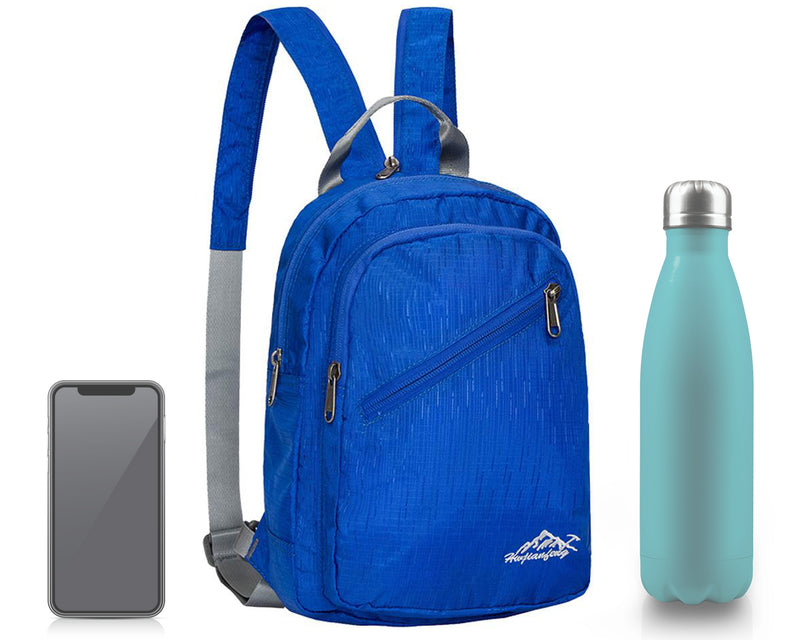 Beachcombing Backpack - Foldable Compact Water-Resistant Bag - FREE U.S. Shipping