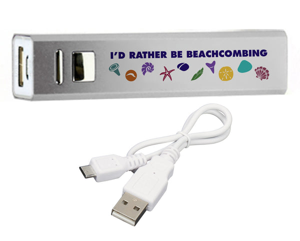 Beachcombing Backup Battery Phone Charger - FREE U.S. Shipping
