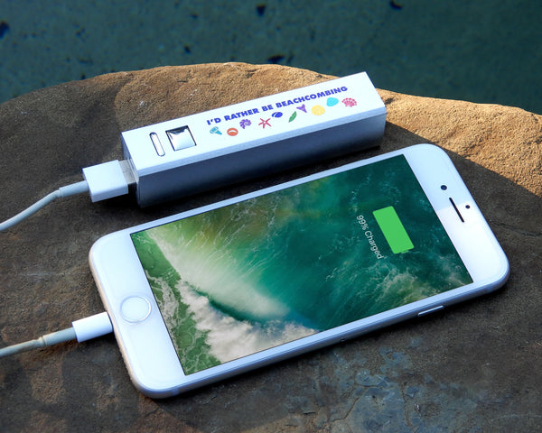 Beachcombing Backup Battery Phone Charger
