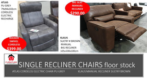 Klaus Single Recliner