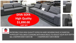 Diva 3 Seater & 2 Seater