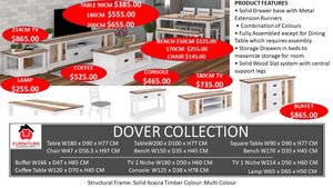 Dover Dining Collection