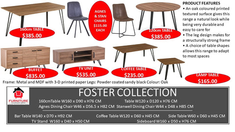 Foster Dining Collection