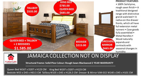 Jamaica Bedroom Collection