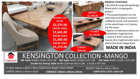 Kensington Dining Collection