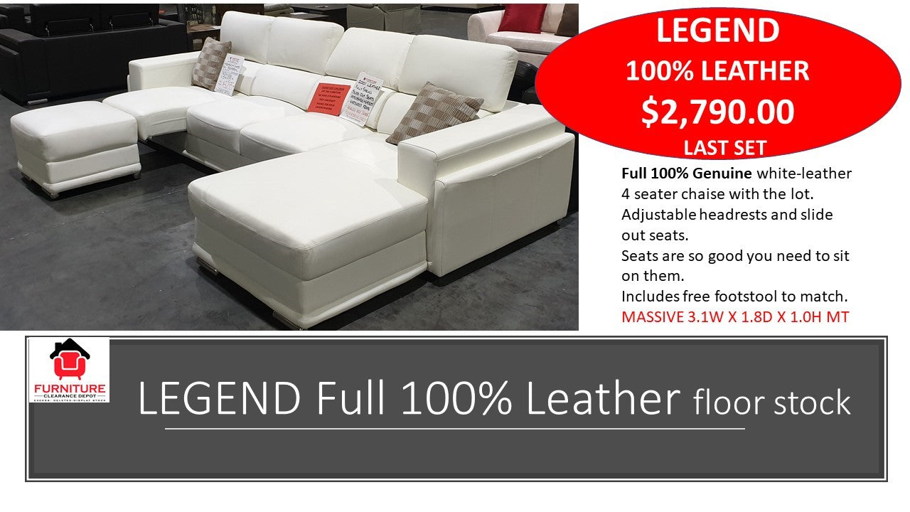 Legend 4 Seater Chaise