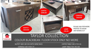 Taylor Blackbean Collection
