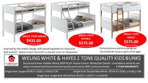 Welling & Hayes Kids Bunk Beds