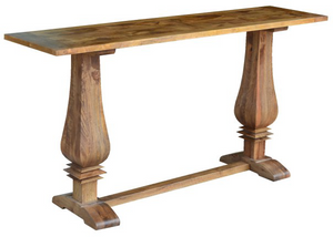 Duke Parquetry Console Table