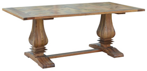 Duke Parquetry Dining Table 2.45m