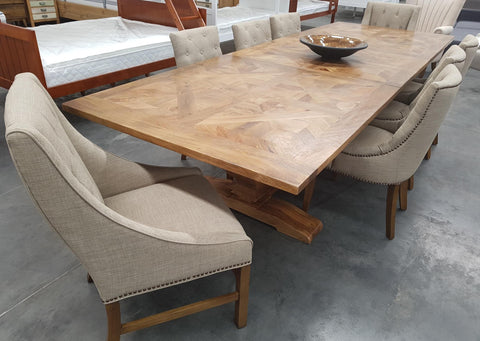 Duke Parquetry Extension Table