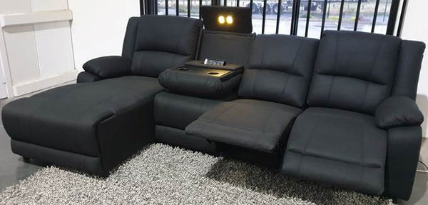 Marvel Home Theatre 4 Piece with Chaise