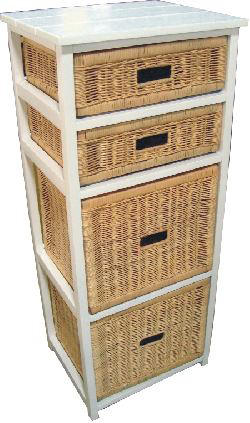 Northshore 4 Drawer Tall Cabinet
