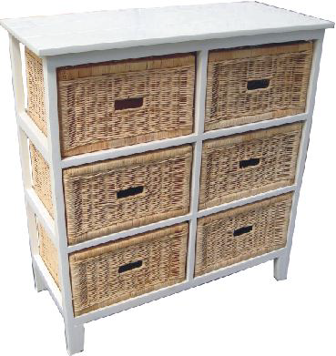 Northshore 6 Drawer Tall Cabinet