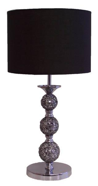 Steel/Mosaic Table Lamp