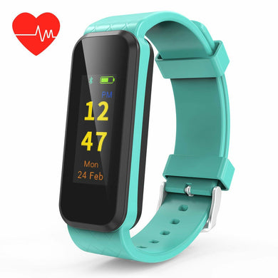 Fitness Tracker Activity Tracker Watch with Heart Rate Monitor, IP67 Waterproof Smart Wristband with Step Counter, Calorie Counter, Sleep Monitor, Pedometer Watch for Kids Women and Men