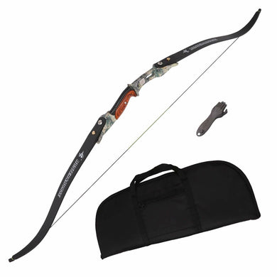 Takedown Recurve Bow Right & Left Hand for Longbow Shooting Target Game