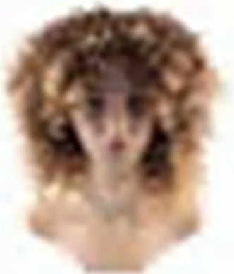 Wig Curly Hair - Brown