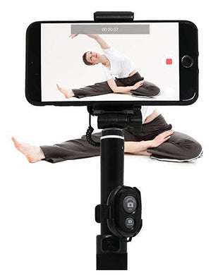 innelo Yoga Pose Recorder, Training Aid Yoga Equipment to Improve and Share Training Results/Black color