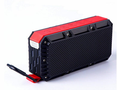 travel inspira Wireless Bluetooth Speaker V4.2 Waterproof IPX6 with Enhanced Bass HD Sound, Dual-Channel Stereo Pairing, Built-in Mic, TF Card Slot