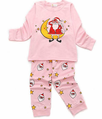 DHASIUE Christmas Kids & Toddler Pajamas Boys Girls 2 Piece Pjs Set Cotton Sleepwear 2-7 Years