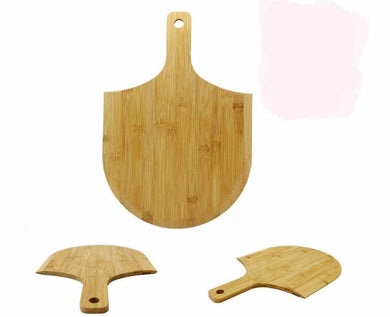 Pizza Peel Paddle,Natural big Pizza Peel paddle with Handle (For Baking Pizza, Bread, Cutting Fruit, Vegetables, Cheese)