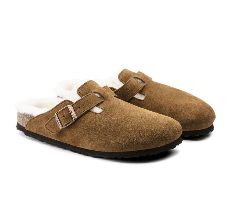 Birkenstock Boston Fur