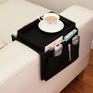 Foldable Sofa Arm Rest 6 Pocket Organizer