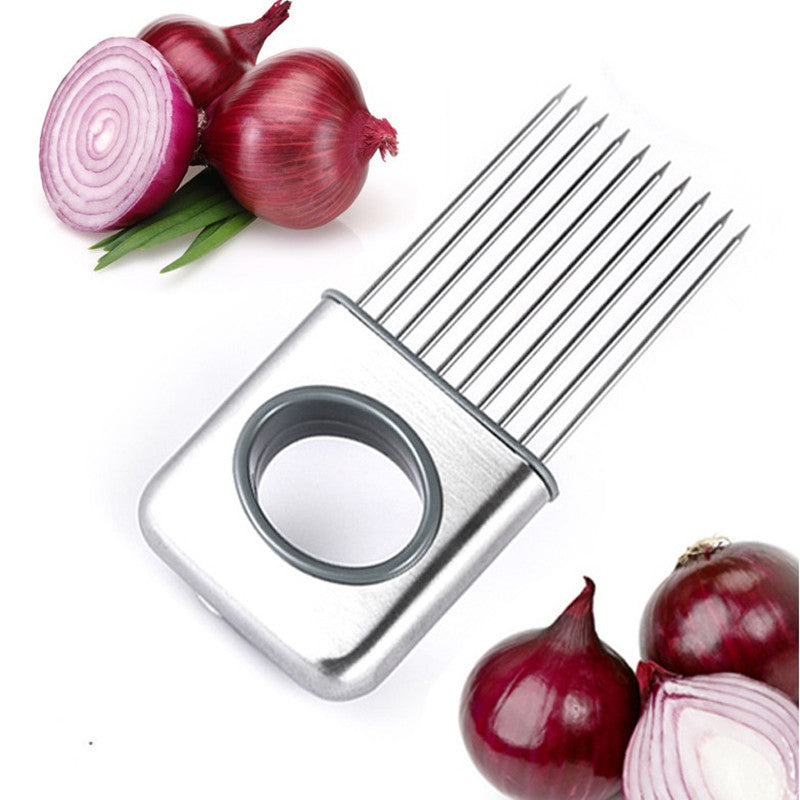Stainless Steel Onion Holder Slicer