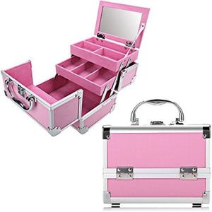 Aluminum Travel Make Up Organizer