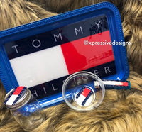 Tommy Hilfiger  rolling tray set (read description)