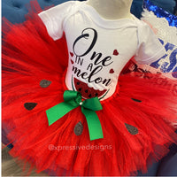 One in a Melon tutu set (read description)