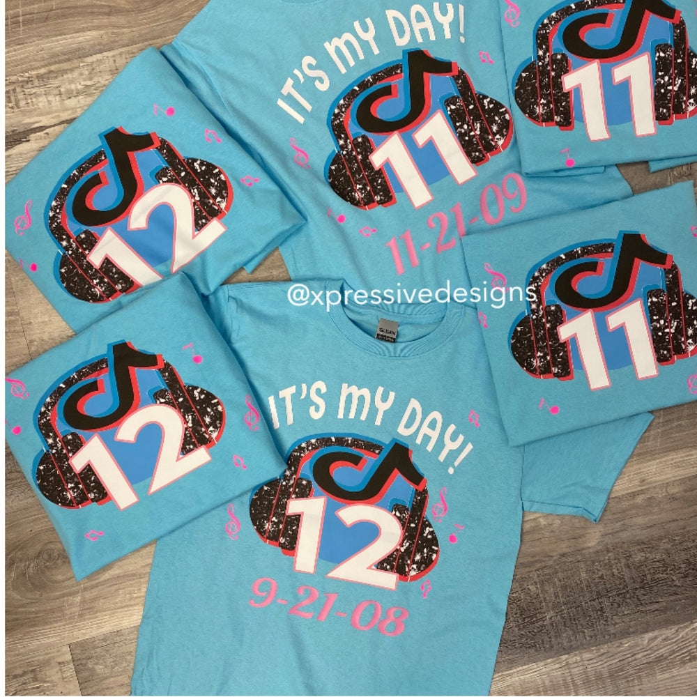 TikTok Party tees (read description)
